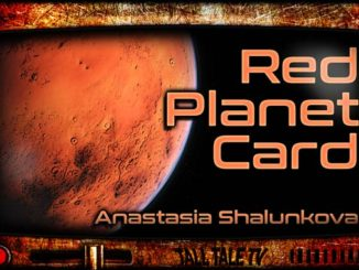 Sci Fi Short Stories - Red Planet Card
